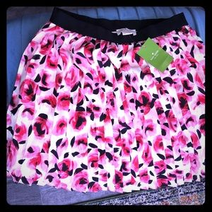 Girls NWT Kate spade floral skirt 12Y